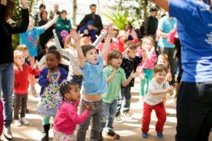 dancing toddlers
