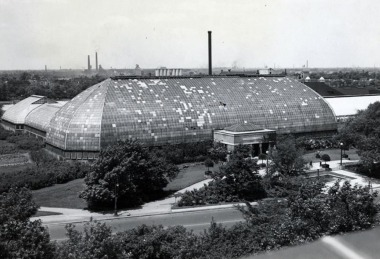 historical view of conservatory