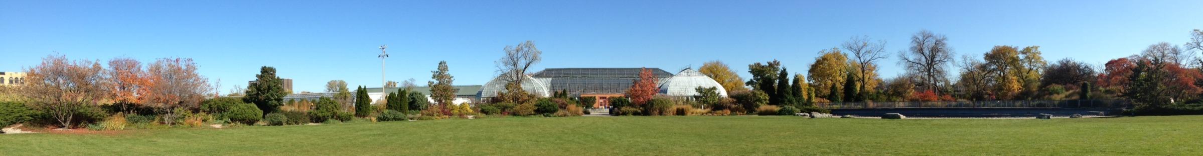 Outdoor Gardens Garfield Park Conservatory