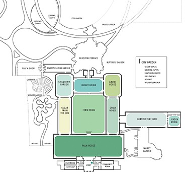 map of conservatory