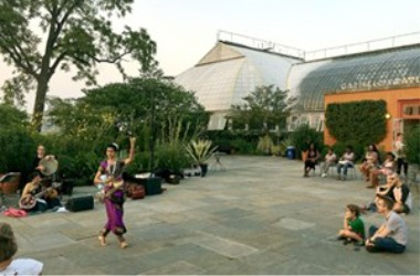 Night Out in the Parks: Raga-Andean Folk Music