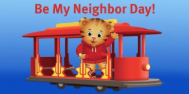 Picture of Daniel Tiger for Be My Neighbor Day