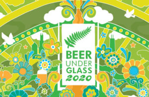 Beer Under Glass 2020 graphic image