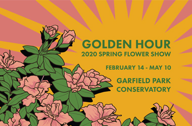 Golden Hour 2020 Spring Flower Show graphic